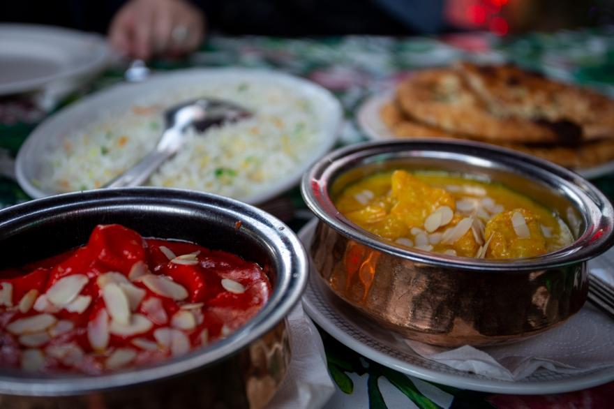 Butter masala och Goan